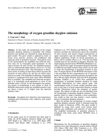 The Morphology of Oxygen Greenline Daygl... by Tyagi, S.