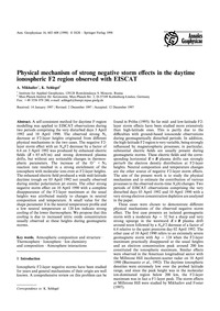 Physical Mechanism of Strong Negative St... by Mikhailov, A.
