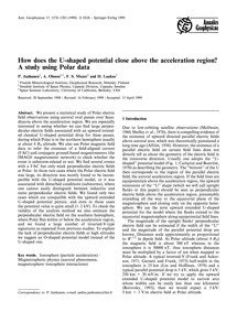 How Does the U-shaped Potential Close Ab... by Janhunen, P.