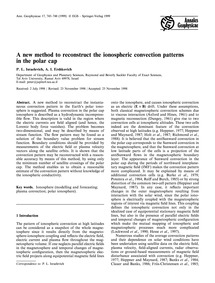 A New Method to Reconstruct the Ionosphe... by Israelevich, P. L.