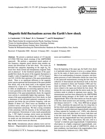 Magnetic Field Fluctuations Across the E... by Czaykowska, A.
