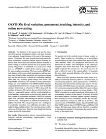 Ovation: Oval Variation, Assessment, Tra... by Newell, P. T.