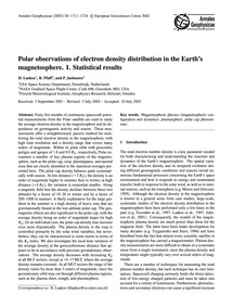 Polar Observations of Electron Density D... by Laakso, H.