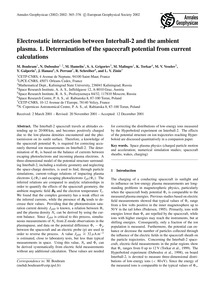 Electrostatic Interaction Between Interb... by Bouhram, M.