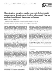 Magnetosphere-ionosphere Coupling Curren... by Nichols, J. D.