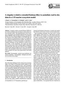 A Singular Evolutive Extended Kalman Fil... by Hoteit, I.
