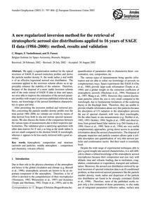 A New Regularized Inversion Method for t... by Bingen, C.