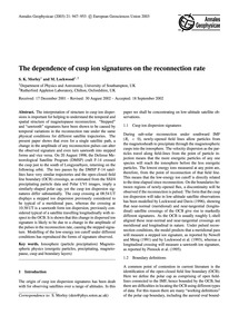 The Dependence of Cusp Ion Signatures on... by Morley, S. K.