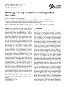 Morphology of the Ring Current Derived f... by Le, G.