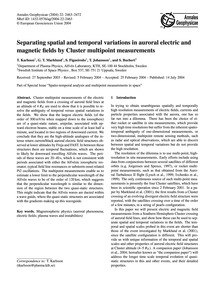 Separating Spatial and Temporal Variatio... by Karlsson, T.