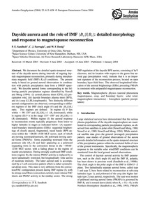 Dayside Aurora and the Role of Imf ∣BY∣/... by Sandholt, P. E.