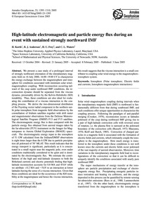 High-latitude Electromagnetic and Partic... by Korth, H.