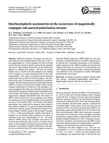 Interhemispheric Asymmetries in the Occu... by Parkinson, M. L.