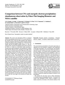 Comparison Between Cna and Energetic Ele... by Tanaka, Y.-m.