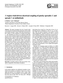 E-region Wind-driven Electrical Coupling... by Shalimov, S.