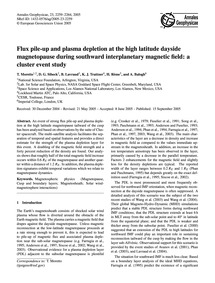 Flux Pile-up and Plasma Depletion at the... by Moretto, T.