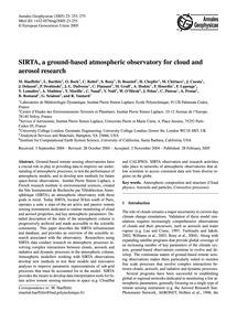 Sirta, a Ground-based Atmospheric Observ... by Haeffelin, M.