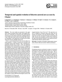 Temporal and Spatial Evolution of Discre... by Figueiredo, S.