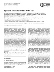 Spacecraft Potential Control for Double ... by Torkar, K.