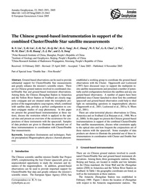 The Chinese Ground-based Instrumentation... by Liu, R.-y.