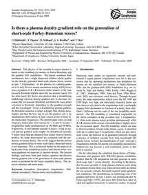 Is There a Plasma Density Gradient Role ... by Haldoupis, C.