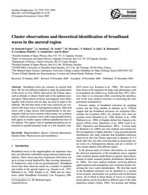 Cluster Observations and Theoretical Ide... by Backrud-ivgren, M.