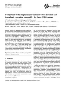 Comparison of the Magnetic Equivalent Co... by Benkevitch, L. V.