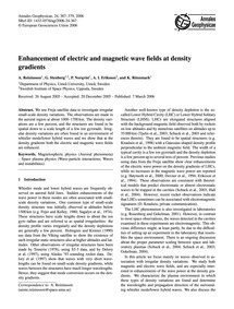 Enhancement of Electric and Magnetic Wav... by Reiniusson, A.