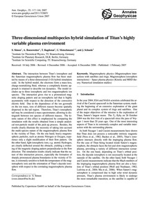 Three-dimensional Multispecies Hybrid Si... by Simon, S.