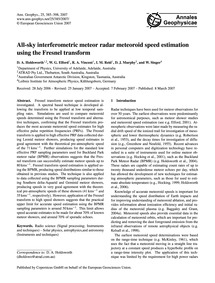 All-sky Interferometric Meteor Radar Met... by Holdsworth, D. A.