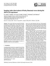 Imaging Radar Observations of Farley Bun... by Hysell, D. L.