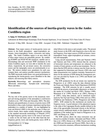 Identification of the Sources of Inertia... by Spiga, A.