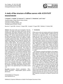 A Study of Fine Structure of Diffuse Aur... by Sergienko, T.