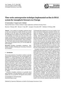 Time Series Autoregression Technique Imp... by Koutroumbas, K.