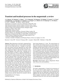 Transient and Localized Processes in the... by Sharma, A. S.