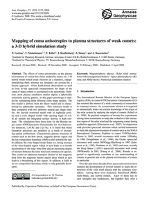 Mapping of Coma Anisotropies to Plasma S... by Gortsas, N.