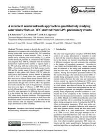 A Recurrent Neural Network Approach to Q... by Habarulema, J. B.