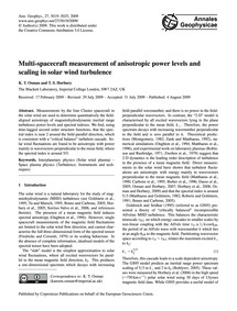 Multi-spacecraft Measurement of Anisotro... by Osman, K. T.