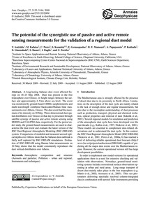 The Potential of the Synergistic Use of ... by Amiridis, V.