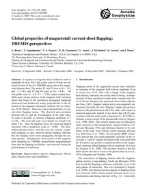 Global Properties of Magnetotail Current... by Runov, A.