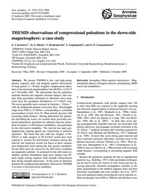 Themis Observations of Compressional Pul... by Korotova, G. I.