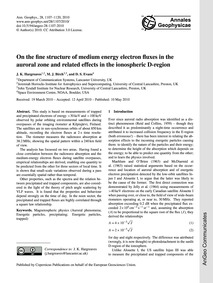 On the Fine Structure of Medium Energy E... by Hargreaves, J. K.