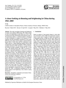 A Closer Looking at Dimming and Brighten... by Xia, X.