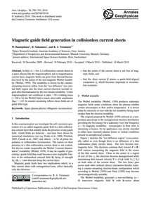 Magnetic Guide Field Generation in Colli... by Baumjohann, W.