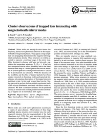 Cluster Observations of Trapped Ions Int... by Soucek, J.