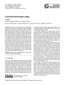 Fractional Baud-length Coding : Volume 2... by Vierinen, J.