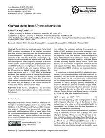 Current Sheets from Ulysses Observation ... by Miao, B.