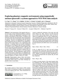 Exploring Planetary Magnetic Environment... by Pope, S. A.