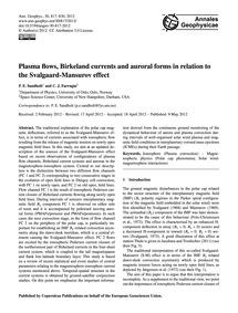 Plasma Flows, Birkeland Currents and Aur... by Sandholt, P. E.