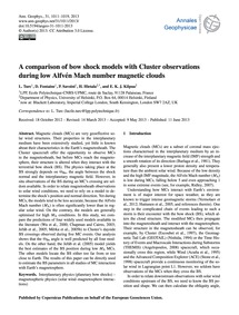 A Comparison of Bow Shock Models with Cl... by Turc, L.